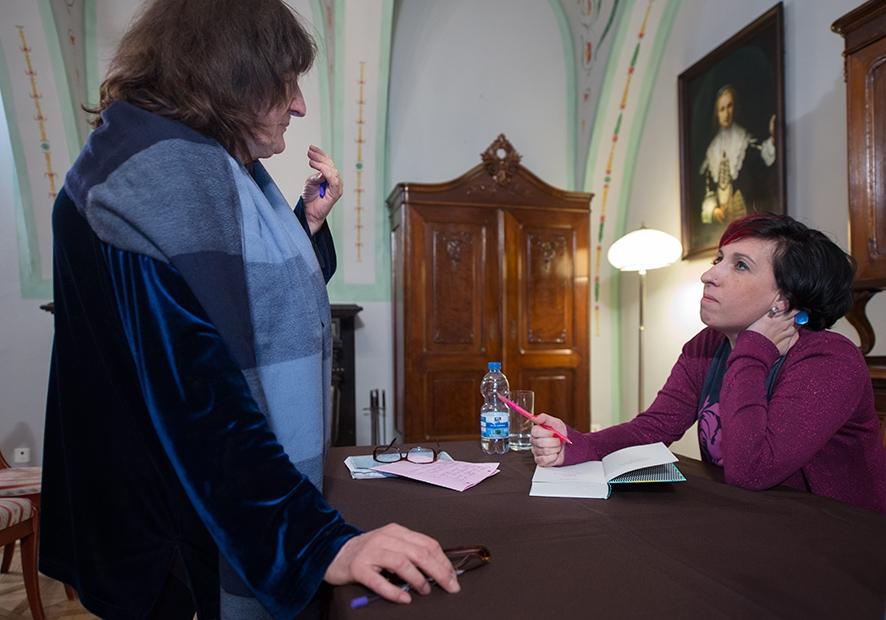 Salon Literacki z Sylwią Chutnik, Fot. Paweł Mazur
