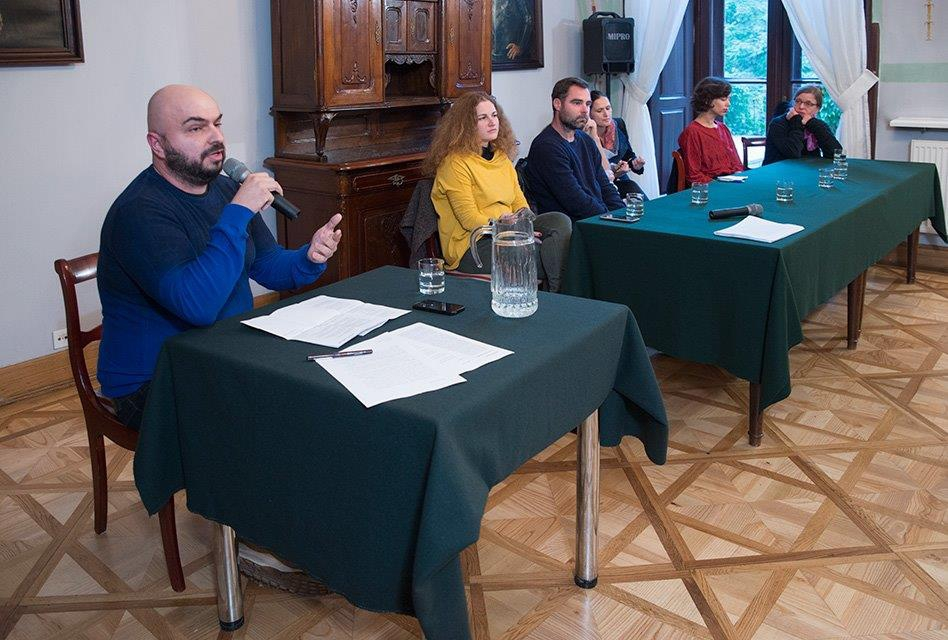 """Salon Literacki: """"Stereotypy a literatura"""", Foto: Paweł Mazur"""