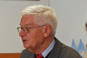 dr hab. Rudolf Šrámek z Uniwersytetu Masaryka w Brnie